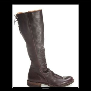 Florentine Baker Leather Boots Brown size 9